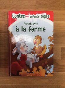 Neuf livre pour petites enfants,Aventures à la ferme.