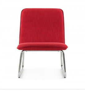 Structube red chair - new