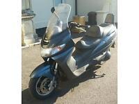 Swap suzuki burgman 400 for larger motorbike