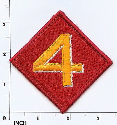 USMC 4th Marine Division PATCH 4th MarDiv Marines full-embroidery Former Combat ()