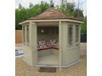 The Newhaven Corner Summerhouse by Scotts of Thrapston