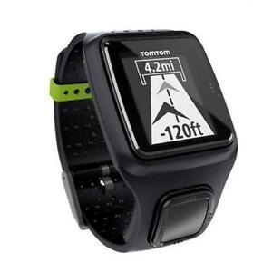 RELOJ-GPS-TomTom-Runner-negro-Reloj-GPS-MONTRE-black-negro-para-raza