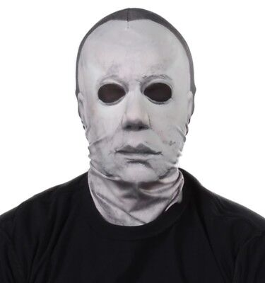 Faux Real Mike Myers Photorealistic Sublimated Halloween Costume Mask F151620