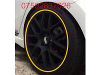 Alloy wheel protector Ford Focus Fiesta Zetec Cmax ST RS Polo Golf Beetle Lupo GTI TDI GTTDI R32 VW