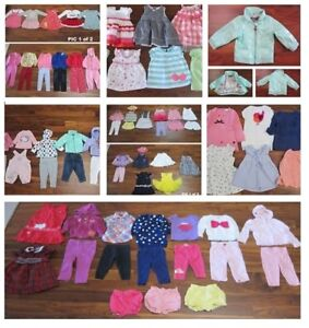 Baby Girl Clothing LOT 1 - Baby brand names
