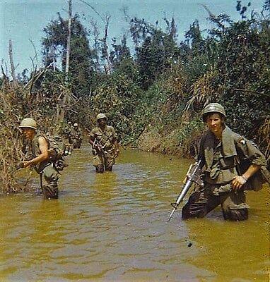 Vietnam War 101st Air Patrol Chu Lai 68 Old Grainey Large Borders 8.5x11 Photo