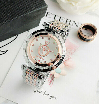 Stainless steel Pandoraes Wristwatch Women's Movable dial Classic Fashion Watch