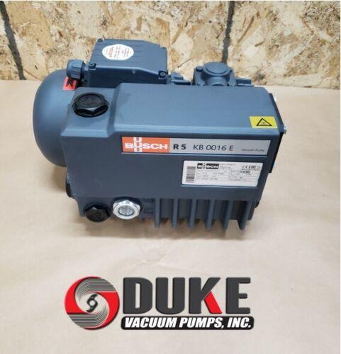 BUSCH R5  KB 0016 E, Oil Lubricated Rotary Vane, Vacuum pump