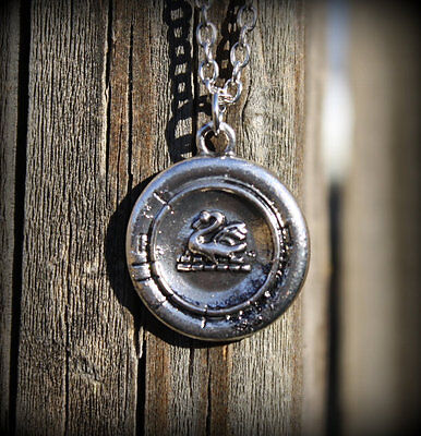 Once OUAT Upon a Time Emma Themed Swan Inspired Pendant Necklace