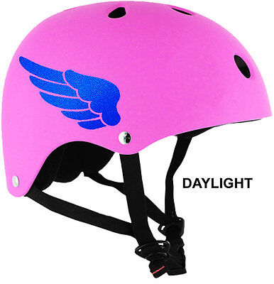 Hyper-Reflective Wings Decal Bicycle/Helmet Safety Decal Set #684R for sale  Shipping to India