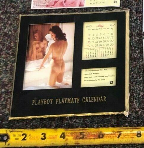 Vintage 1965 Playboy Playmate calender Calendar 65
