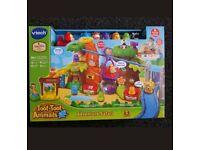 Toot toot animal safari vtech toy