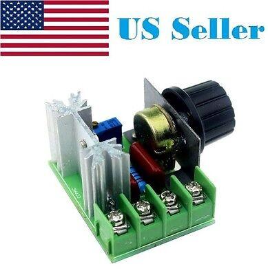 220v110v 2000w Speed Controller Scr Voltage Regulator Dimming Dimmers
