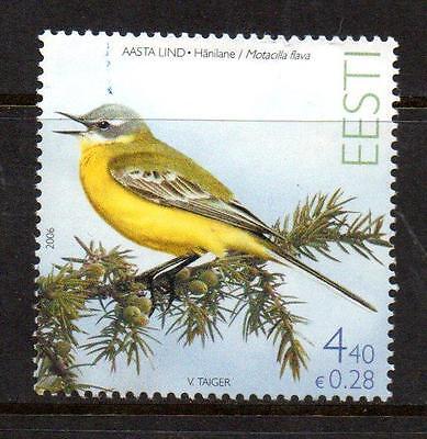 ESTONIA MNH 2006 SG517 YELLOW WAGTAIL