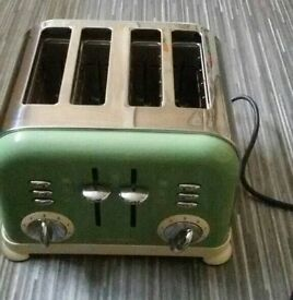 Morphy Richards accents toaster FOR SPARES OR REPAIR