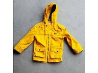 Boys lightweight rain jacket age 5-6