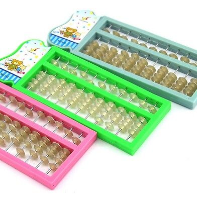 New Plastic Abacus  Arithmetic Soroban School Maths Kids Calculating Tool* for sale  China
