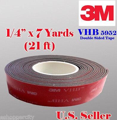 3m 14 X 21 Ft 7 Yards Vhb Double Sided Foam Adhesive Tape 5952 Automotive