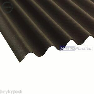 Coroline Roofing Corrugated Bitumen Roof Sheet Black