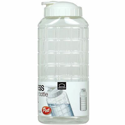 2PCS LOCK&LOCK 1L Chess Liquid Water Tea Bottle Cup Cage Organizer Storage moo