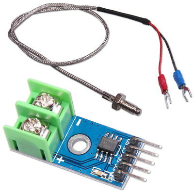 Max6675 K Type Spi Interface Thermocouple Temperature Sensor Module For Arduino
