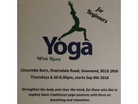 Yoga for beginners and those wanting to explore basic ,traditional yoga postures