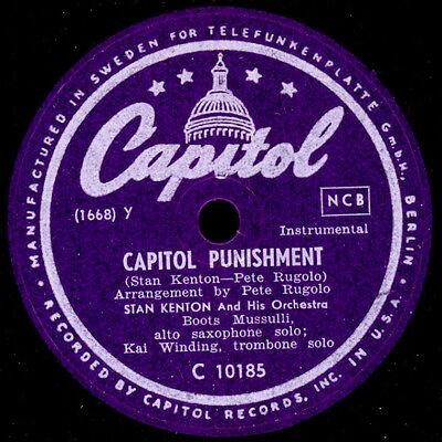 STAN KENTON & HIS ORCH. Capitol punishment / Somnambulism -Modern Jazz-  X1749