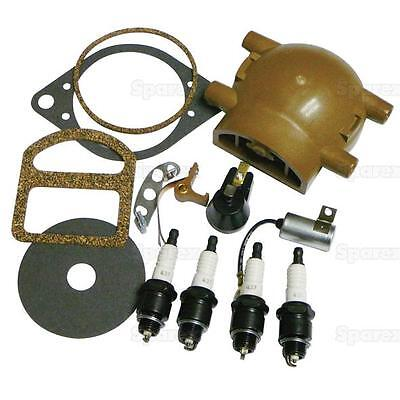 Tune Up Kit Ford Plugs Points Condenser Rotor Button 8n 9n 2n 1939-1950 67876