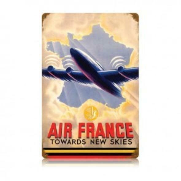 """Air France"" Metal Aviation Sign  SIG-0146"