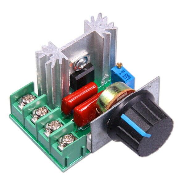 2000W 220V elektrischer Spannungsregler Motordrehzahlregler Hochleistung