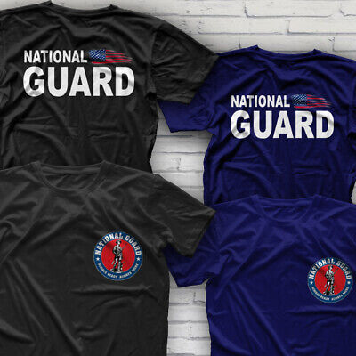 Army National Guard Military T-shirt (Special Force ARMY Homeland Military US NATIONAL GUARD T-Shirt Size S-3XL )