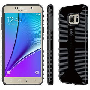 hot sale online f9e9c e49cd Speck Samsung Galaxy Note 5 CandyShell Grip Black Case