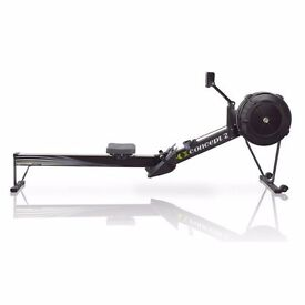 CONCEPT 2 MODEL D INDOOR ROWER COMMERCIAL ROWING MACHINE WITH PM5 MONITOR (BLACK)