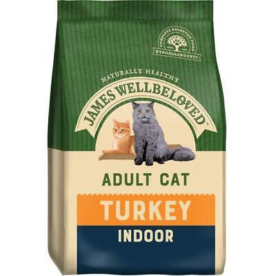 JAMES WELLBELOVED INDOOR COMPLETE DRY CAT FOOD TURKEY 1.5KG (WAS HOUSECAT)