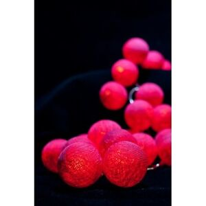 Beautiful-Cotton-Ball-String-Lights-From-THAILAND