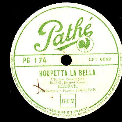 BOURVIL (der Schauspieler!)  Houpetta la bella / Quand même    Schellack   S6267