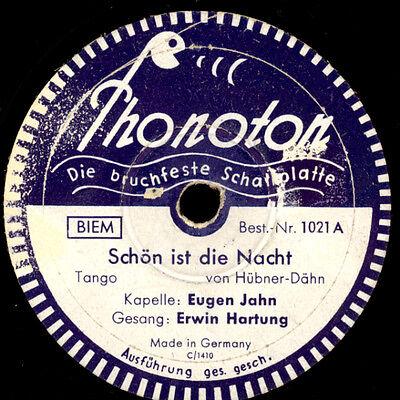 ERWIN HARTUNG & KAPELLE EUGEN JAHN Schön ist die Nacht/Stern...-Phonoton-  S6002