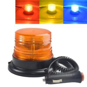 Strobe Car LED Truck Magnetic Warning Lamp DC 12V Brand New