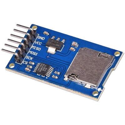 Modulo Lettore Scrittore per Card MicroSD SPI Micro SD Arduino PIC Scheda Reader