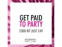 Ann summers opportunities