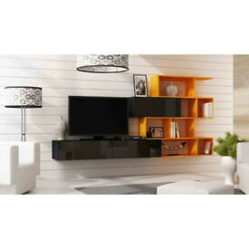 Modern and Contemporary TV wall unit