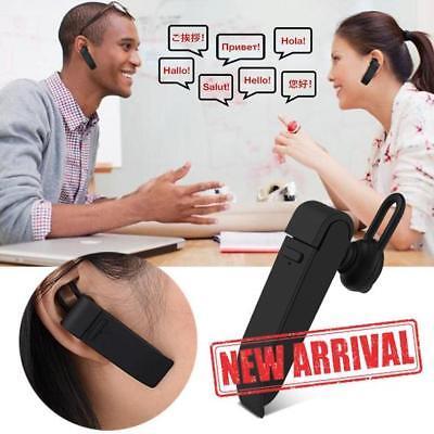 Multi-Language Instant Translator Bluetooth Headphones Business Wireless Smart