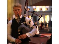 Wedding Piper - £190 Winter Bagpiper Offer