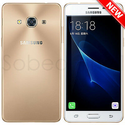 New Samsung Galaxy J3 Pro J3119S 4G LTE GSM (Factory Unlocked) 16GB - Gold