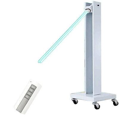 100W móvil lámpara de desinfección UV luz ultravioleta germicida UV-C carretilla