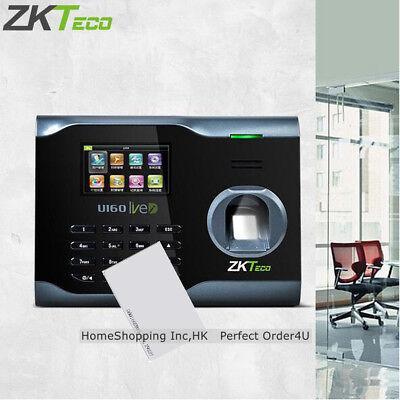 Zkteco Biometric Fingerprint Rfid Card Attendance Time Clockwifitcpipusb