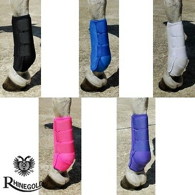 *NEW* Rhinegold Sports Medicine Competition Boots – Pony/Cob/Full – 5 Colours