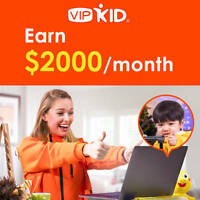 Have a degree? Teach kids online and Earn $14-22/hr with VIPKID!