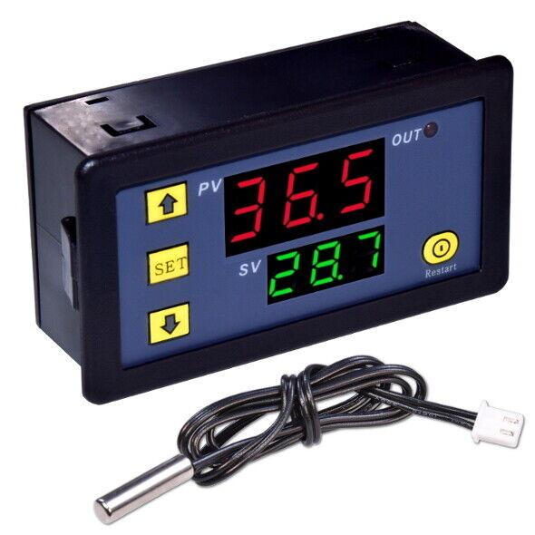 W1225 Temperaturregler 12V DC 6-Arbeitsmodi Digital Thermostat Temperatur Regler