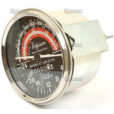 Massey-fergusonharris To35 F40 Mh-mf 50 65 Tractor Tractormeter Tachometer Tach